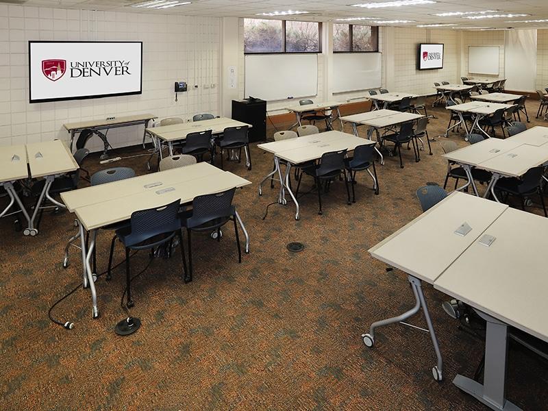 Sturm Hall Classroom